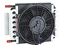 automatic transmission oil cooler with fan kit