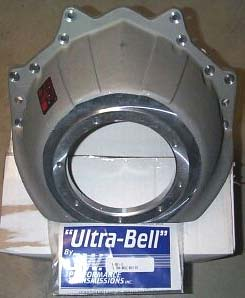 Transmission adapter JW Ultra Bell Racing Bellhousing and transmission adapter