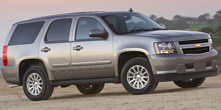 New Chevy Tahoe Truck Image