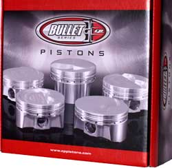 dish top sbf Pistons Pins Pistons Rings and Locks