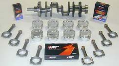 Stroker Engine Kit Crankshaft Pistons Rods Rings Bearings