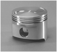 ross ford 2.0 forged flat top piston 2.3 forged piston image