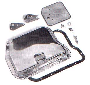 Mopar 727 904 Chrome Transmission Oil Pan