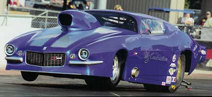 ross racing pistons pro mod drag racing car
