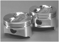 Ross Racing Pistons Small Block Chevy Dist Top Piston Image