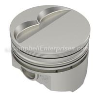 KB167 318 Flat Top Piston