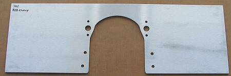 big block chevy motor plate