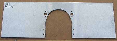 small block chevy motor plate