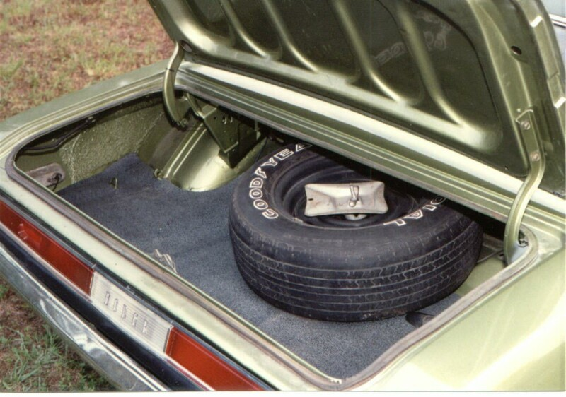 1970 Dodge Challenger Trunk Photo