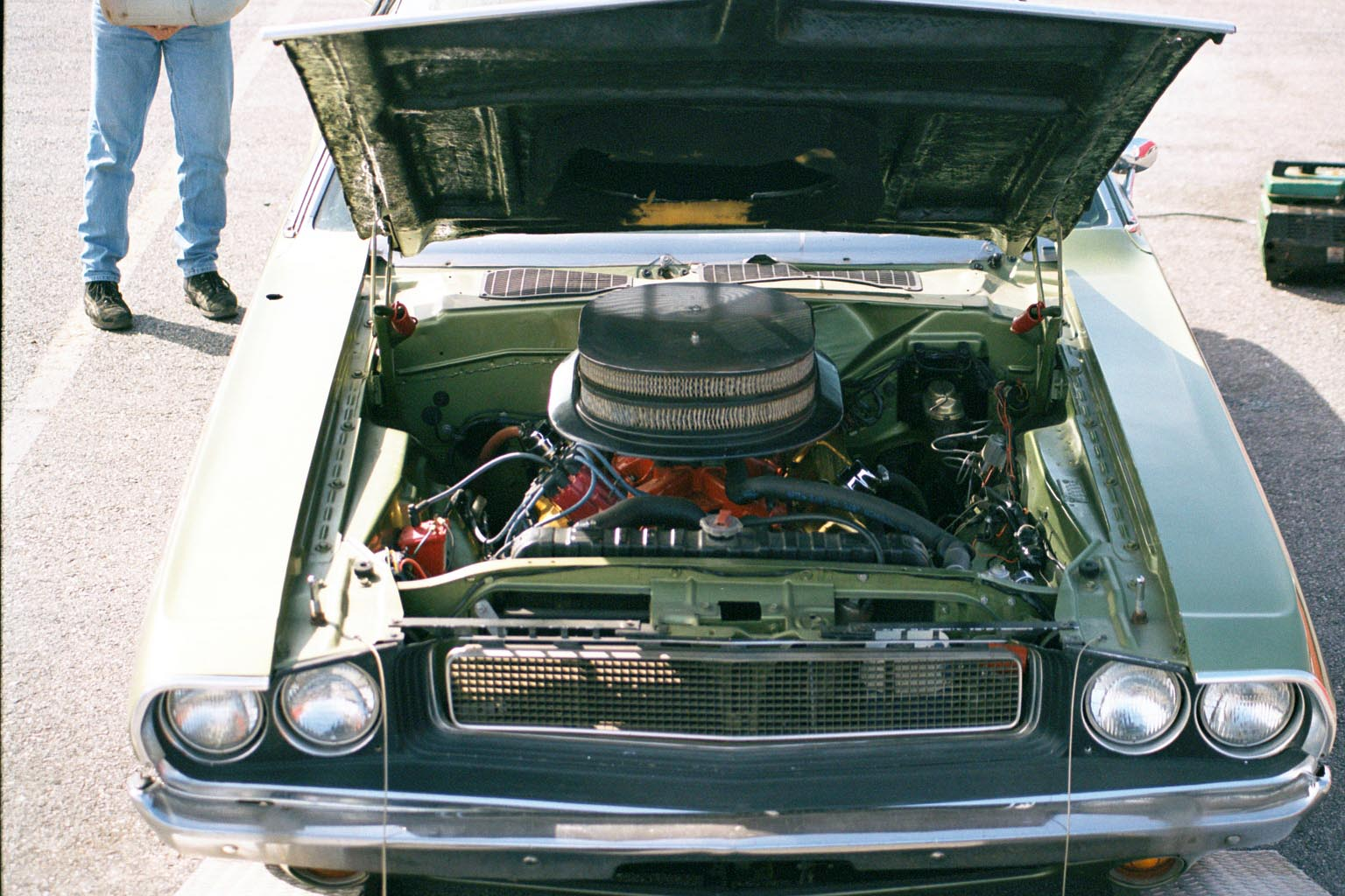 1970 Dodge Challenger Engine Compartment Picture