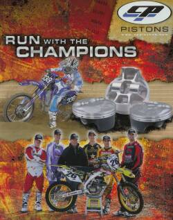 CP Piston Kits ATV Quad Motocross Off Road Racing Pistons Catalog Image