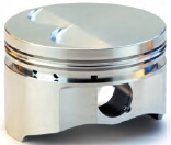 Diamond forged racing flat top piston