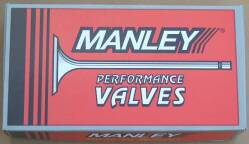 Manley Stainless Steel Racing Valves Titanium Valves High Performance Valves