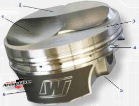 wiseco professional series piston