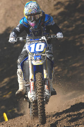 jacqueline strong womens motocross association racer 10